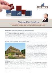 Fragen & Antworten - Habona Invest