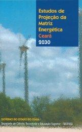 Estudos de projeção da matriz energética do Ceará 2030 - IEE/USP