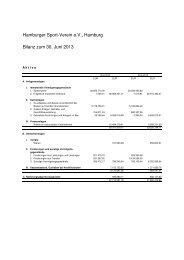 Jahresabschluss zum 30.Juni 2013 Hamburger Sport-Verein ... - HSV