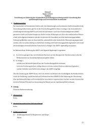 Verordnung zur Änderung der ... - Bundesministerium für Gesundheit