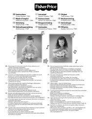 GInstructions FMode d'emploi DAnleitung ... - Mattel