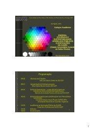 Apresentação dos Objetivos do Evento - IEE/USP