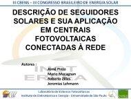 descrição de seguidores solares e sua aplicação em ... - IEE/USP