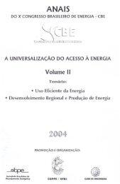 Geração de energia elétrica para comunidades isoladas ... - IEE/USP