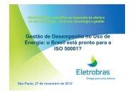o Brasil está pronto para a ISO 50001? - IEE/USP