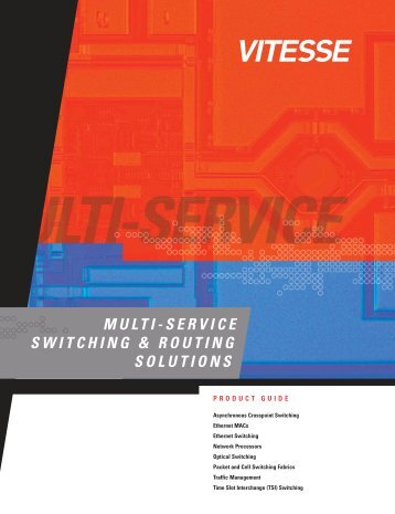 MULTI-SERVICE SWITCHING & ROUTING SOLUTIONS