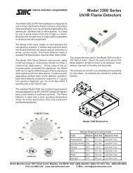 Model 3300 Series UV/IR Flame Detectors - Sierra Monitor ...