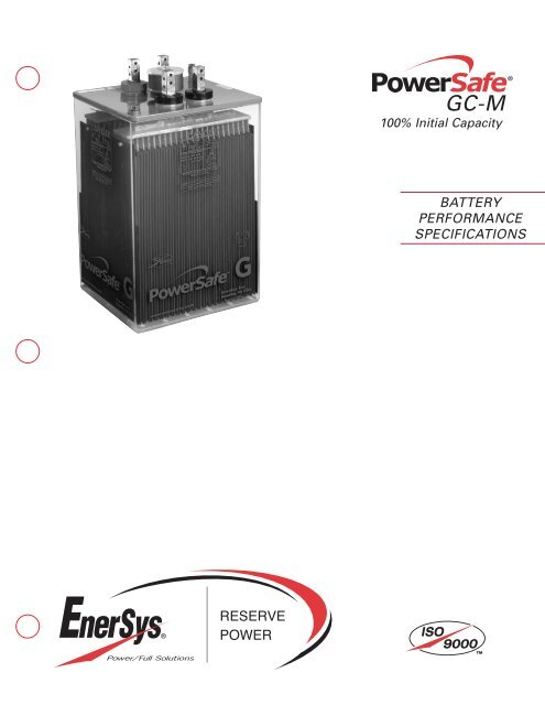US-GCM-PS-002 - EnerSys