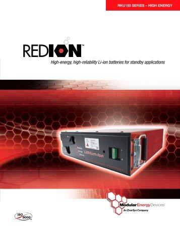 High-energy, high-reliability Li-ion batteries for standby ... - Telbatt.com