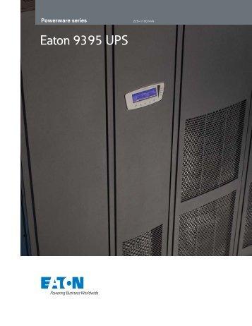 Eaton 9395 UPS - Ieeco.net