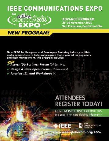 Click here to view documentation - IEEE GLOBECOM 2013