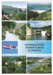 HYDROELECTRIC POWER PLANTS IN CROATIA - GHN