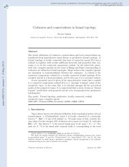Cosheaves and connectedness in formal topology