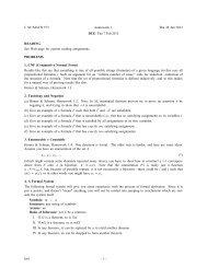 Homework 1 (due Thu 7 Feb)