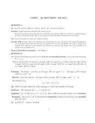 CSE371 Q1 SOLUTIONS Fall 2013 If from the fact that all sides of a ...
