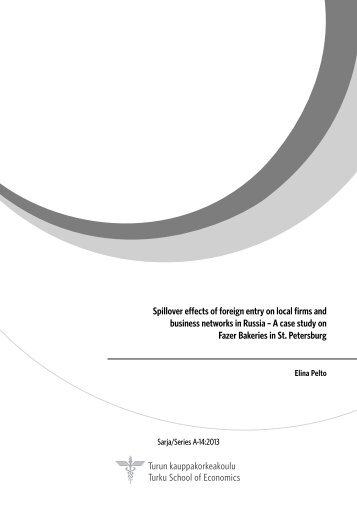 Spillover effects of foreign entry on local firms and business ... - Doria