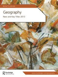 Geography 2013 (US) - Routledge