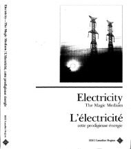 Electricity L'electricite - IEEE Global History Network