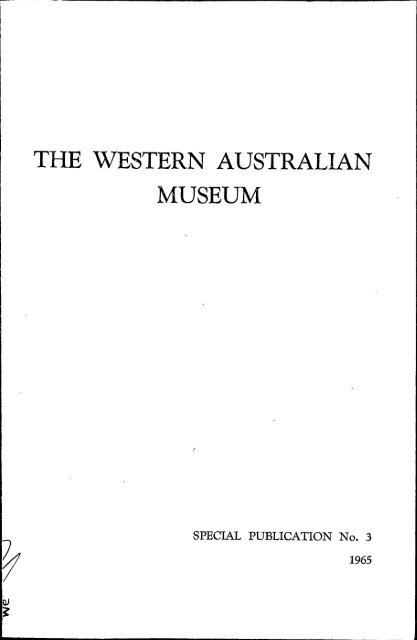 catalogue of western australian meteorite collections