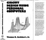 download searchable PDF of Circuit Design book - IEEE Global ...