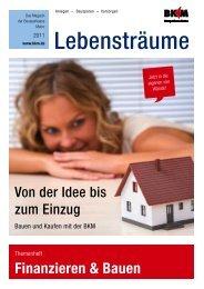 Themenheft Finanzieren & Bauen (PDF) - Bausparkasse Mainz AG