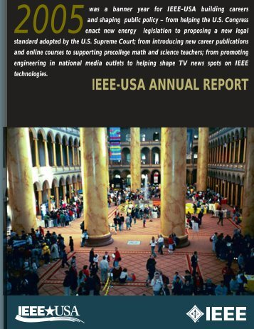 2005 Annual Report - IEEE-USA