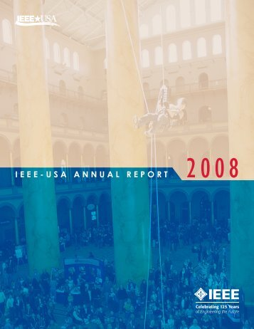 2008 IEEE-USA Annual Report