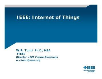 IEEE: Internet of Things - IEEE-USA