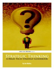 Strategic Thinking: A High-Tech Strategy Guidebook - IEEE-USA