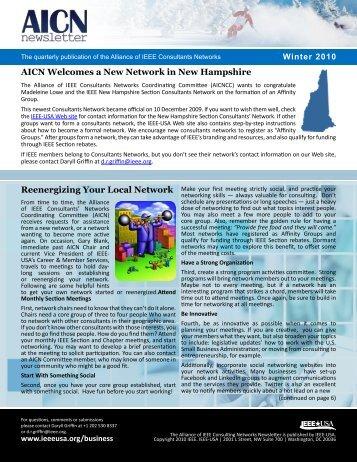 2010 Winter Newsletter - IEEE-USA