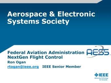 Federal Aviation Administration NextGen Flight Control - IEEE-USA
