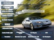 Automotive Applications of Basic Research - Association of ...