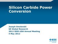 SiC Power Conversion Advancement - IEEE-USA