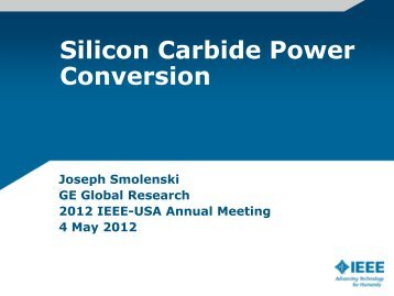 SiC Power Conversion Advancement - IEEE-USA