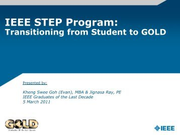 IEEE STEP Program: - IEEE-USA