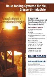 Neue Tooling Systeme für die Giesserei-Industrie