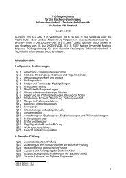 Prüfungsordnung - Fakultät für Informatik und Elektrotechnik ...