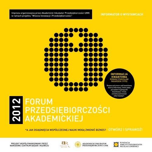 forum przedsiębiorczości w zakresie kojarzenia firm