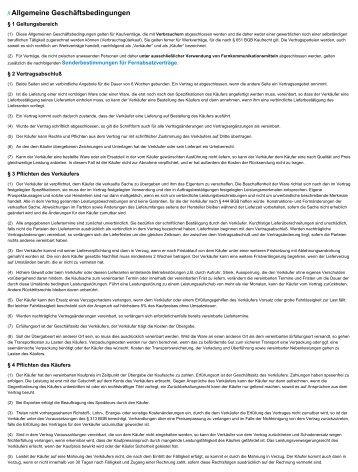 Sonderbestimmungen für Fernabsatzverträge - Bootsmotorenhandel ...