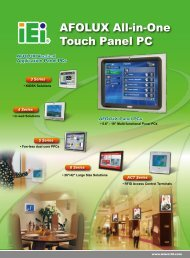 AFOLUX All-in-One Touch Panel PC - iEi