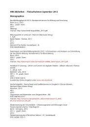 HRK-Bibliothek - Titelaufnahmen September 2013 ... - HRK Nexus