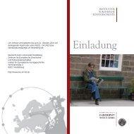 Einladung - Institut für Europäische Kunstgeschichte - Uni.hd.de