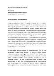 Erfahrungsbericht León WS 2010/2011 Vorbereitung und die ersten ...