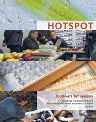 HOTSPOT - Swiss Biodiversity Forum