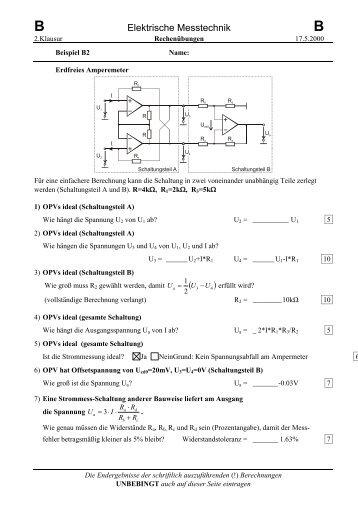 Elektrische Messtechnik ( )4