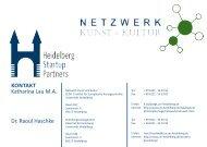 Netzwerk Kunst und Kultur - Institut für Europäische Kunstgeschichte
