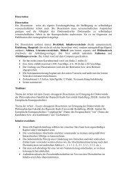 Dissertation - Institut für Europäische Kunstgeschichte