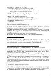 Sitzungsprotokoll der KVS-IEK, 28.5.2008