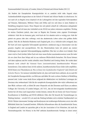 Bericht - Institut für Europäische Kunstgeschichte