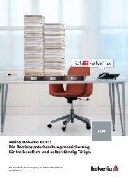 Meine Helvetia BUFT: Die Betriebsunterbrechungsversicherung für ...